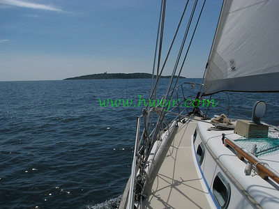 "I was fortunate to be offered a spot as crew aboard while this sailboat cruised the coast of Maine in August, 2007 . This foto can be found in its original category "" Boating ""  in gallery  "" Maine August, 2007 "" as image #0344"