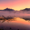 Smokey Foggy Sparks Lake Sunrise