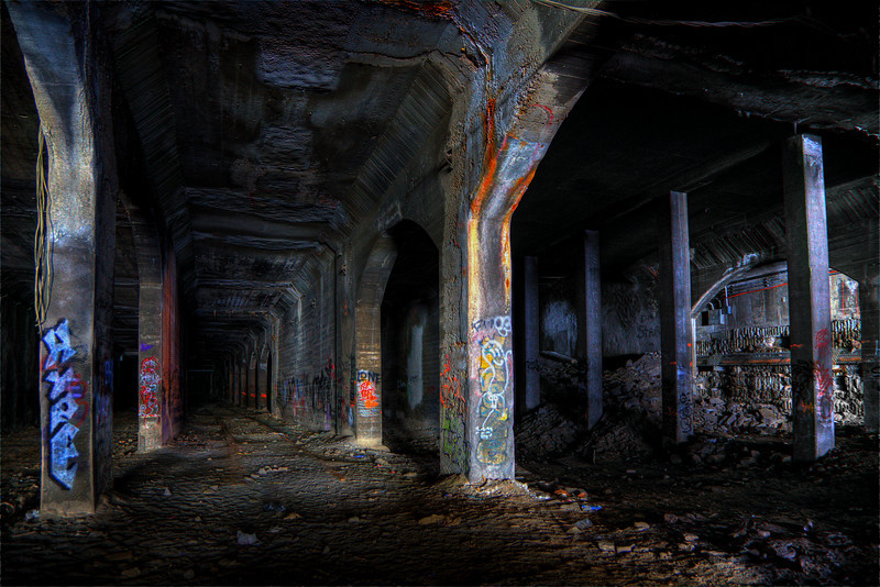 Old Rochester subway.