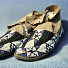 Great Plains Indian beaded moccasins
