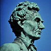 Lincoln statue at Lincoln - Douglas debate site in Freeport, IL