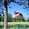 Barn at the DeKalb - Ogle County line in Illinois