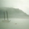 Sailboat-fog