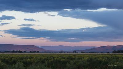 Sunset, San Luis Valley Colorado