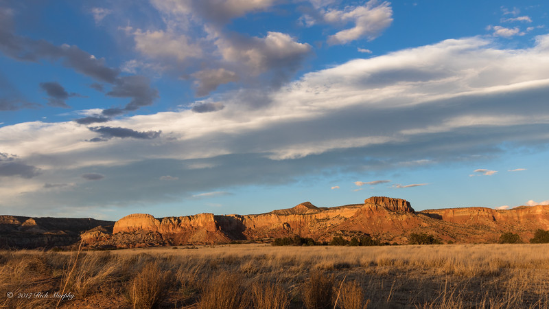 Sunset at the Ghost Ranch, Abiquiu New Mexico