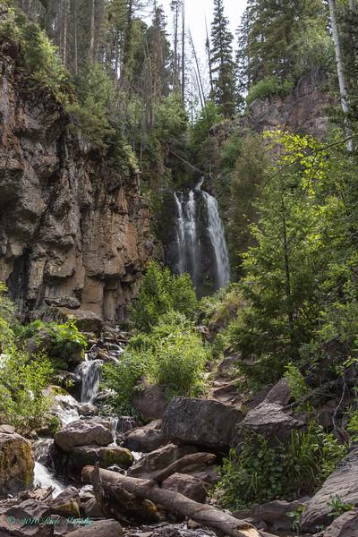 Water fall   Rough Creek Colorado