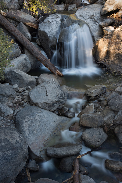 Just a tributary to the Merced river, made by Bridal Veil falls...
