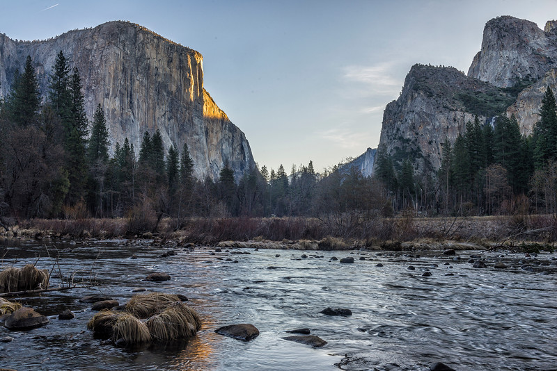 Valley View at Sunrise, Yosemite Valley