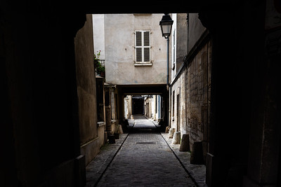 Narrow Streets of Le Marais