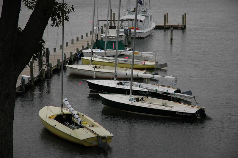 Flying Scots on Fishing Bay Dock