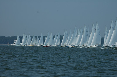 Start of Championship Fleet race 6