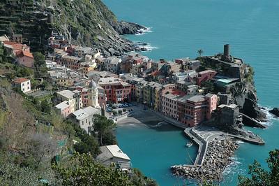 Vernazza in Cinque Terre in Italy.
