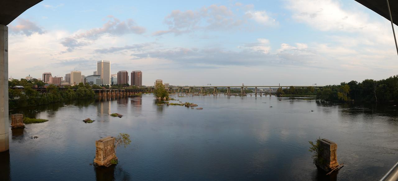 9/25/2012 Richmond Skyline from Belle Isle
