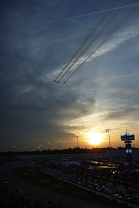 4/26/2013 - Flyover before the Toyota Care 250.