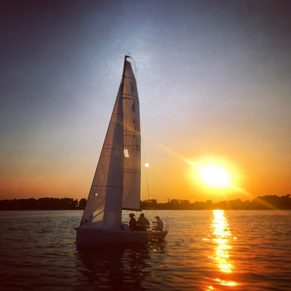 Evening J70 Sailing - FBYC