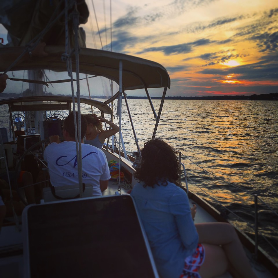 Sunset Cruise aboard Tradition - July 4th Weekend
