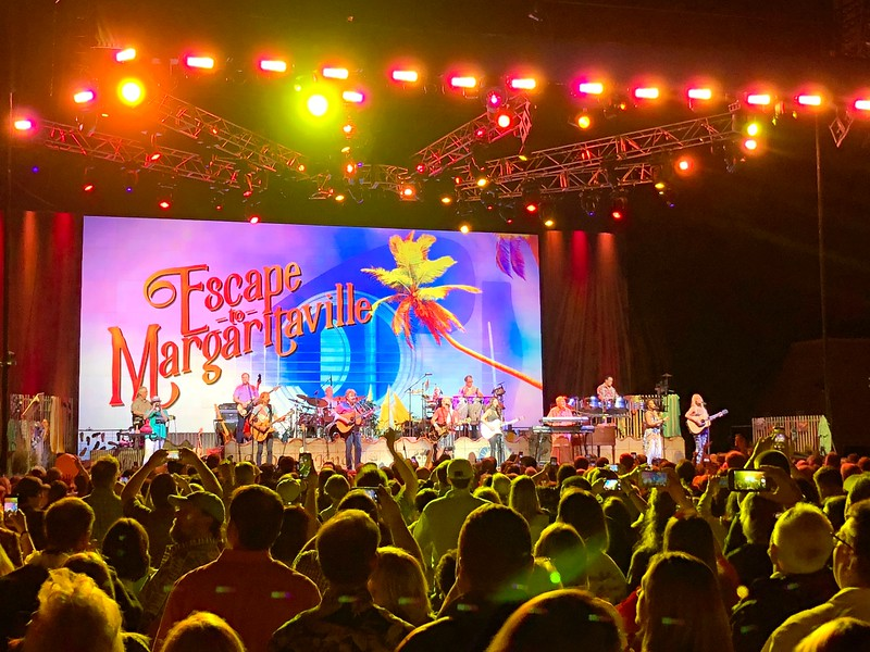 Jimmy Buffet Concert in Charlottesville