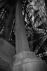 A leg of the Eifel Tower