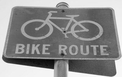 Bike Route in Santa Monica