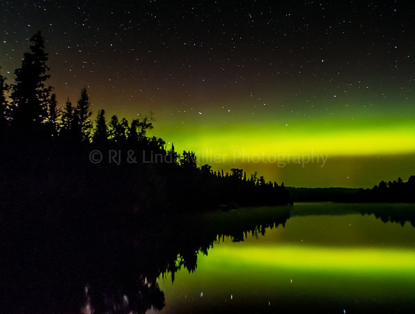 Northern Lights, Caribou Lake, MN