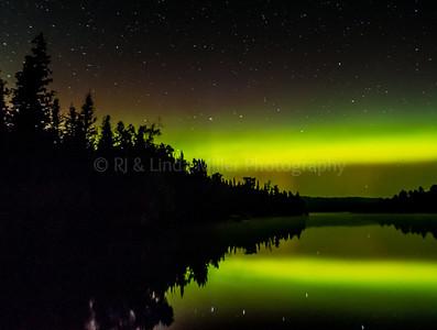 Northern Lights, Caribou Lake, MN