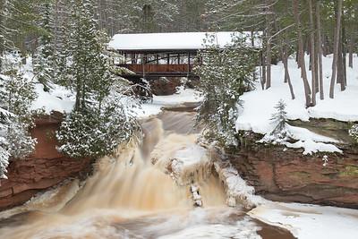 Amnicon Falls State Park, Douglas County, Wisconsin