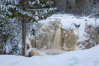 Little Manitou Falls, Pattison State Park, Douglas County, WI