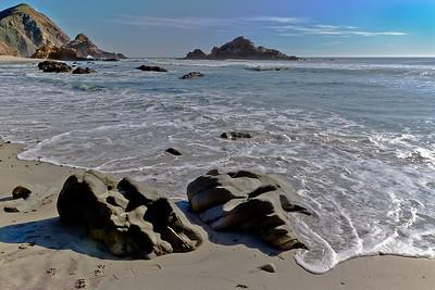 Rocks pfeiffer beach