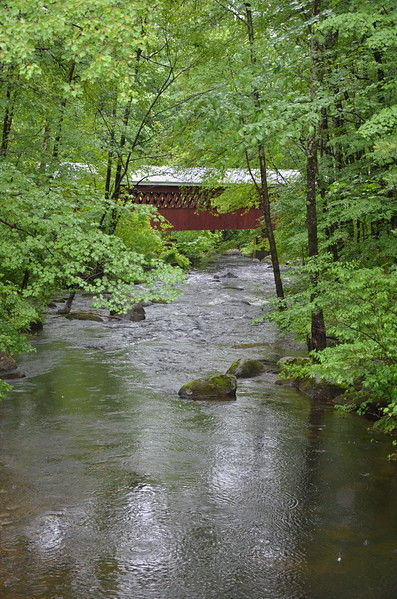 Covered Bridge Over Nissitissit River