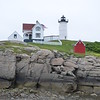 Charming New England lighthouse.