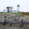 Charming New England lighthouse.