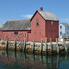 "Lobster shack in Rockport, Massachusetts, known as ""Motif Number 1"""