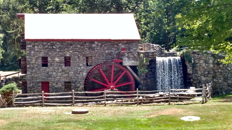 Wayside Inn Grist Mill, Sudbury, Massachusetts