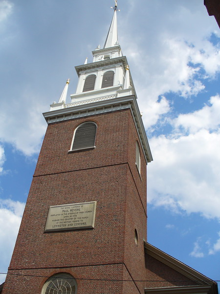 Old North Church, Boston, Massachusetts