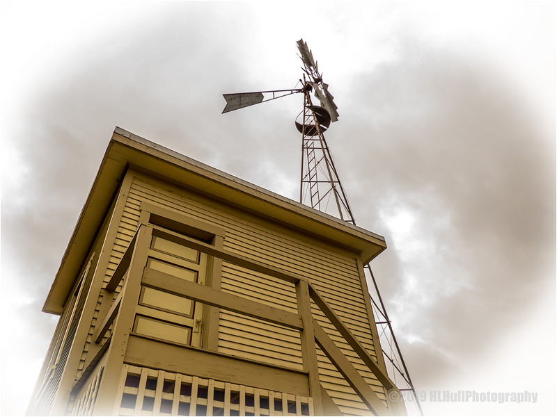 1895 Pump House and Windmill....
