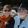 Judi and Dave, selfie pose at The Basin, New Hampshire, 5 Oct 2018