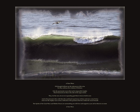 A New Wave  print for gallery 10x8