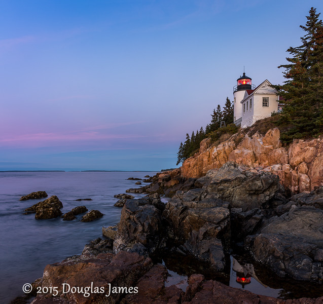 Bass Harbor Head Light Sunrise