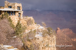 The Battleship from the South Rim