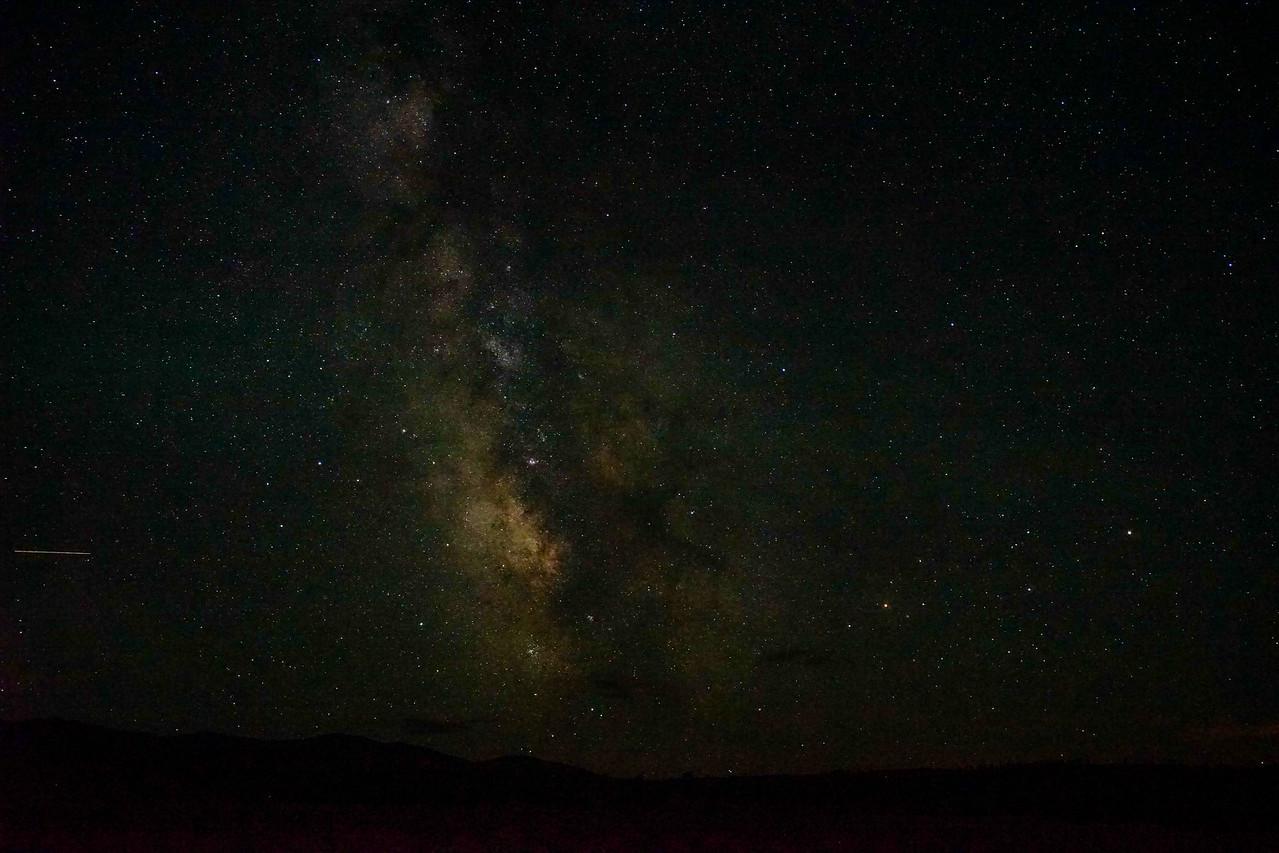 Milky way in the Lamar Valley