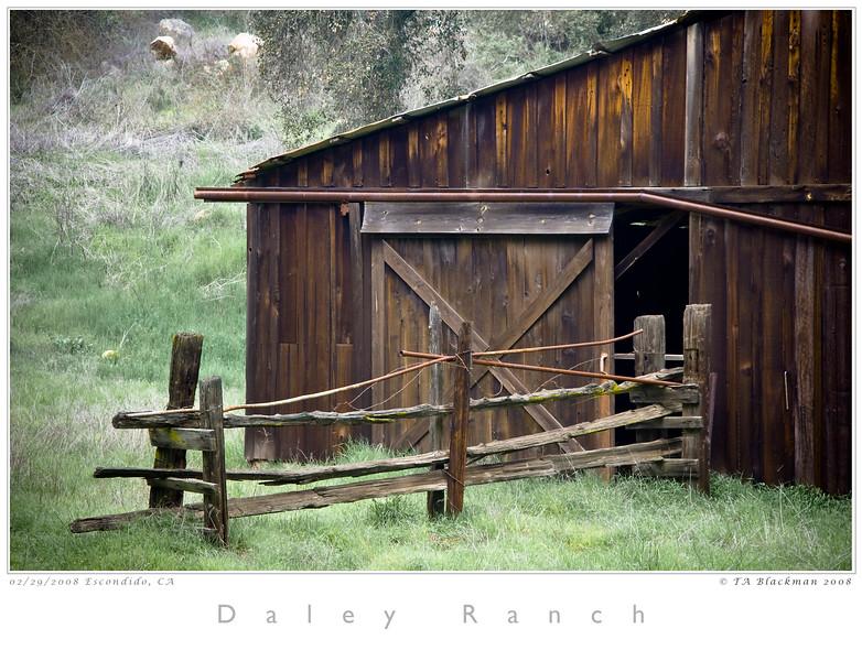 Barn at Daley Ranch