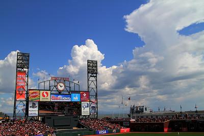 Giants Home Opener 4/8/11