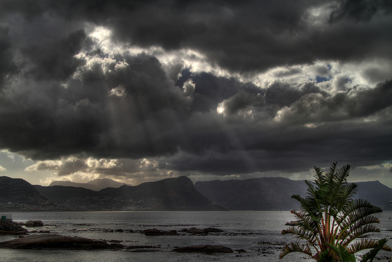 End of storm, Simon's Town