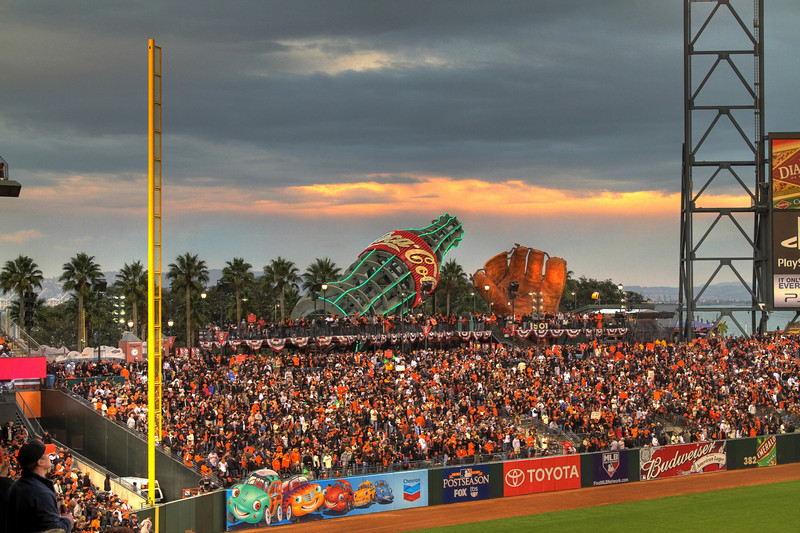 NLCS Game 5, Giants v Phillies