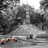 Vietnemese women working in the park