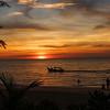 Sunset at Batu Ferringhi, Malaysia