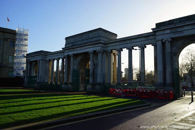 Near Buckingham Palace - London