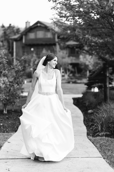 Cara & Andy Whiteface Lodge Wedding