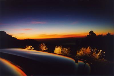Dustin's pix, sunset from Haleakala