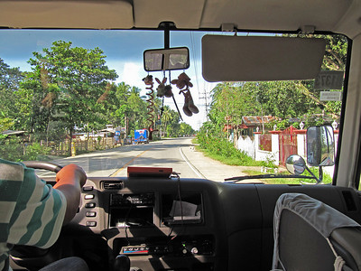 On road, close to Talibon